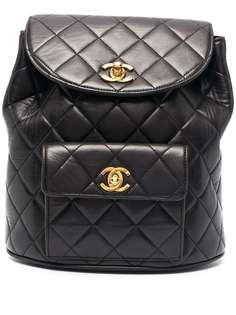 Chanel Pre-Owned стеганый рюкзак 1990-х годов