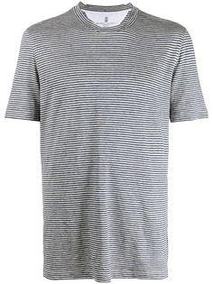 Brunello Cucinelli полосатая футболка