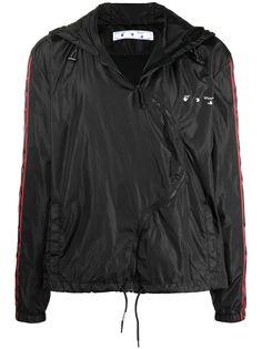 Off-White куртка Twist с капюшоном