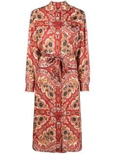 Etro платье-рубашка с принтом пейсли