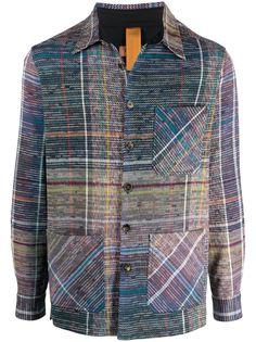 Missoni куртка-рубашка в клетку
