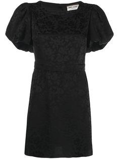 Saint Laurent жаккардовое платье