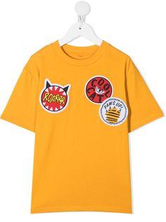 Stella McCartney Kids футболка с нашивками
