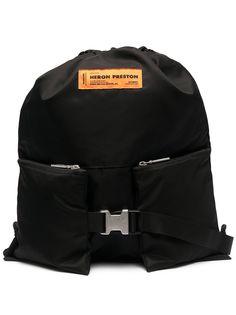 Heron Preston рюкзак с нашивкой-логотипом
