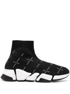 Balenciaga кроссовки Speed 2.0 с логотипом