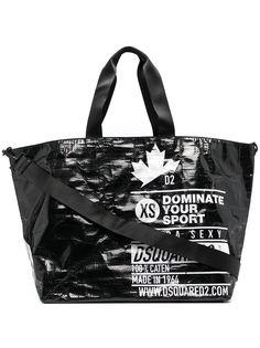 Dsquared2 сумка-тоут из искусственной кожи с логотипом