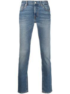 7 For All Mankind джинсы кроя слим