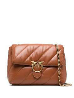 Pinko стеганая сумка с ремнем на цепочке