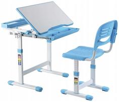 Комплект парта и стул-трансформеры FUNDESK Сantare Blue (515717)