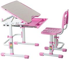Комплект парта и стул-трансформеры FUNDESK Vivo Pink (221895)