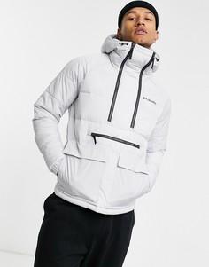 Серая куртка-пуловер Columbia Kings Crest-Серый