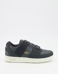 Черные кроссовки Lacoste-Черный цвет
