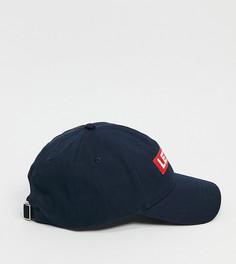 Темно-синяя кепка с логотипом-вставкой Levis – эксклюзивно для ASOS-Темно-синий