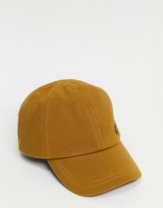 Светло-коричневая классическая кепка из ткани пике Fred Perry-Коричневый цвет