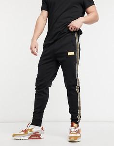 Черные джоггеры HUGO Donburi-Черный цвет