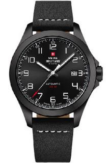 Швейцарские наручные мужские часы Swiss military SMA34077.04. Коллекция Automatic Collection