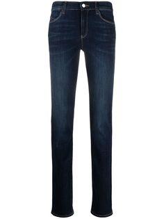 Emporio Armani джинсы скинни средней посадки