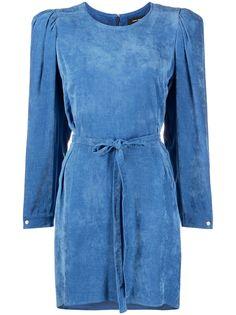 Isabel Marant вельветовое платье с длинными рукавами