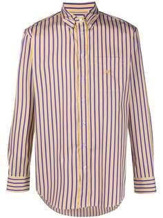 Etro рубашка в полоску