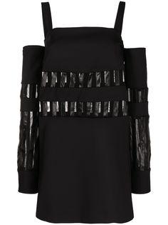 Just Cavalli платье мини с открытыми плечами