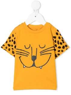 Stella McCartney Kids футболка из органического хлопка с принтом