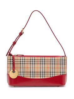 Burberry Pre-Owned сумка на плечо в клетку Nova Check