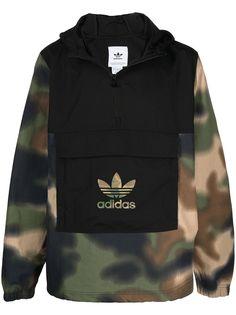 adidas куртка Originals с камуфляжными вставками