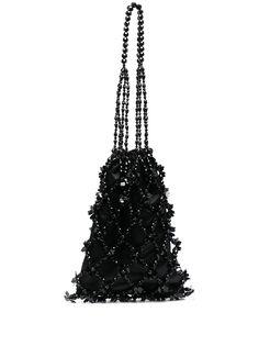 Simone Rocha сумка на плечо с бусинами