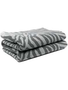 AMI AMALIA одеяло с зебровым принтом