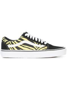 Vans кеды на шнуровке Old Skool Zebra