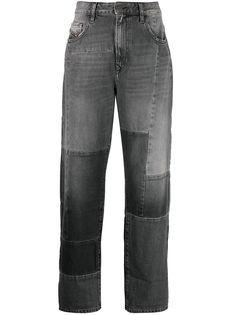 Diesel укороченные джинсы широкого кроя
