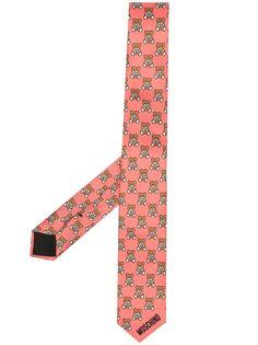 Moschino галстук с принтом Teddy Bear
