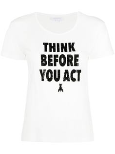 Patrizia Pepe футболка Think Before You Act