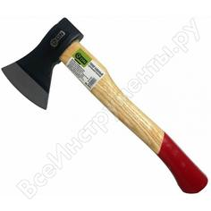 Кованый топор с деревянной рукояткой on 800г 06-03-002