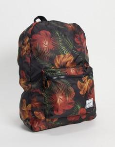 Черный рюкзак с цветочным принтом Herschel-Черный цвет
