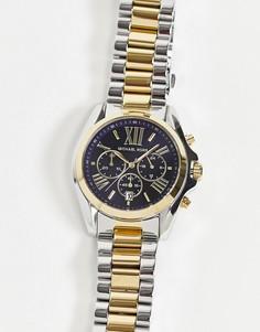 Часы сремешком-браслетом изкомбинированных металлов Michael Kors Bradshaw MK5976-Многоцветный