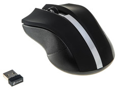Мышь Oklick 615MW Black Silver