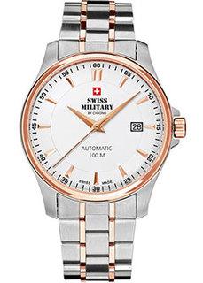 Швейцарские наручные мужские часы Swiss military SMA34025.09. Коллекция Automatic Collection