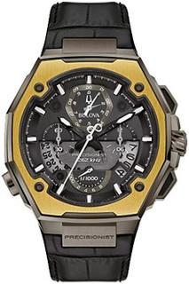 Японские наручные мужские часы Bulova 98B354. Коллекция Precisionist