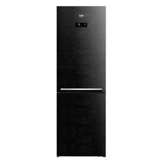Холодильник Beko RCNK365E20ZWB, двухкамерный, черный