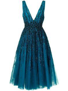 Saiid Kobeisy платье с вышивкой бисером