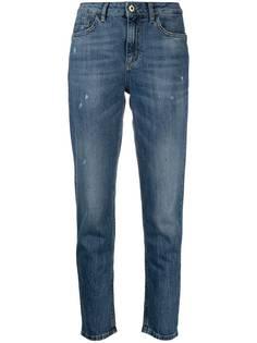 LIU JO зауженные джинсы средней посадки