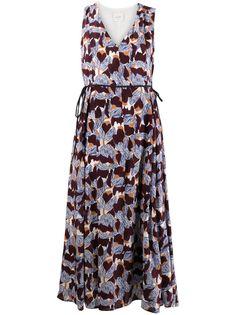 Alysi платье с цветочным принтом