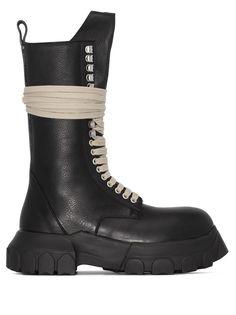 Rick Owens массивные ботинки на платформе
