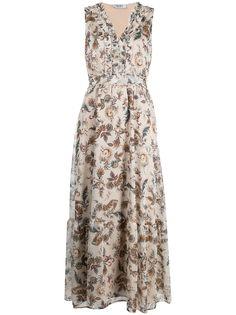 LIU JO платье без рукавов с принтом пейсли