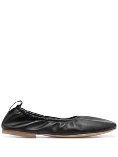 LANVIN балетки с квадратным носком