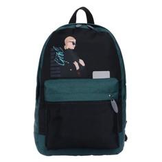 Рюкзак молодёжный, calligrata, 38 х 28 х 19 см, эргономичная спинка, girl boss