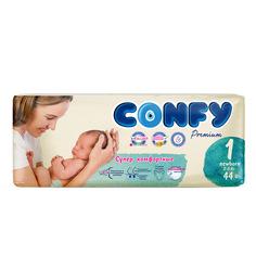 Подгузники CONFY Premium NewBorn () шт.