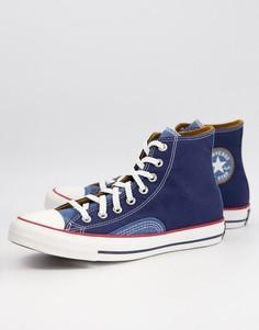 Кеды из денима Converse Chuck Taylor-Голубой