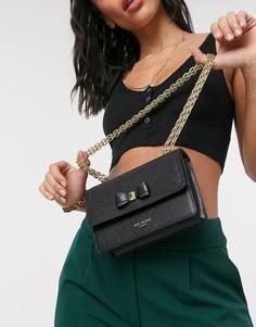 Черная сумка через плечо Ted Baker Appril-Черный цвет
